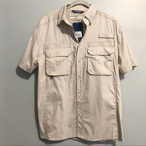 West Marine Breathable Fishing Shirt Khaki